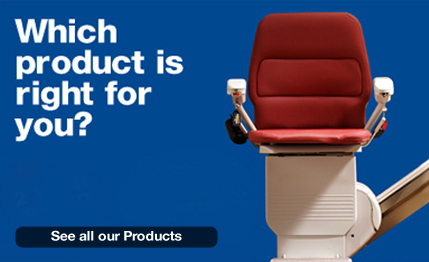 All Product Range of Stairlifts and Home Lifts