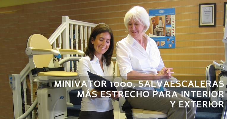 Minivator 1000 - Handicare Stairlifts