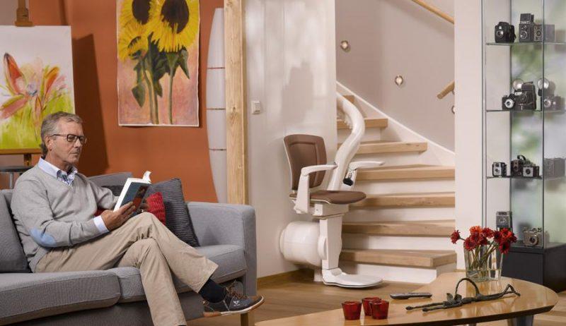 Otolift 1 Gebogene Stairlift