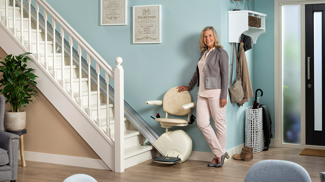 Otolift 1 Curved Stairlift